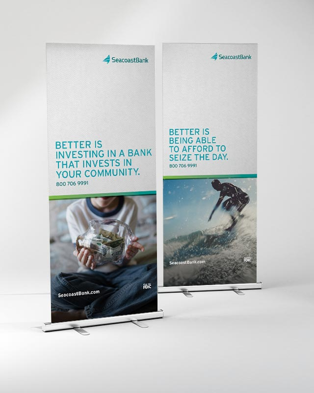 Seacoast Bank - Banners